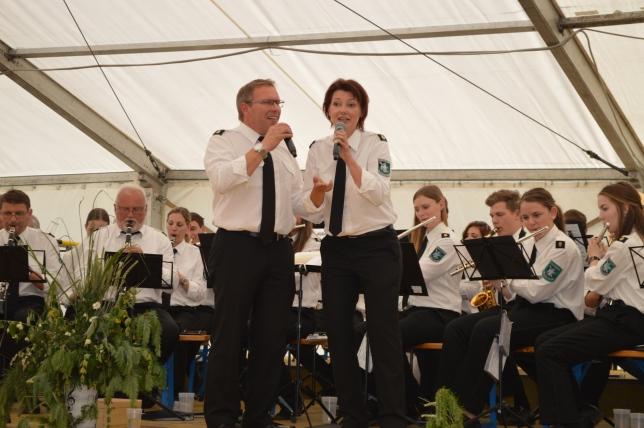 ...sehr zum Gefallen unserer beiden Sänger Thomas und Kathrin.