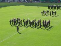 Showmarschieren bei den offiziellen Eröffnungsfeierlichkeiten des Wörtherseestadions (2007)