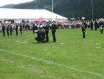 Fotos von der gemeinsam mit der BK Hüttenberg erarbeiteten Rasenshow